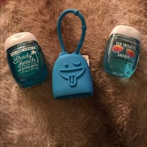 NWT Bath & Body Works Pocketbacs with holder